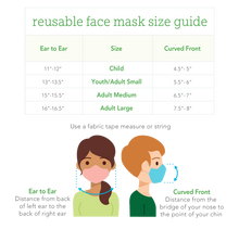 Load image into Gallery viewer, Reusable Face Mask Adult-Navy