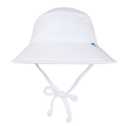 Breathable Bucket Sun Protection Hat-White