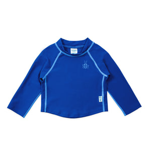 Long Sleeve Rashguard Shirt-Royal Blue