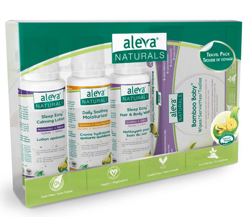 Aleva Natural Newborn Travel Pack
