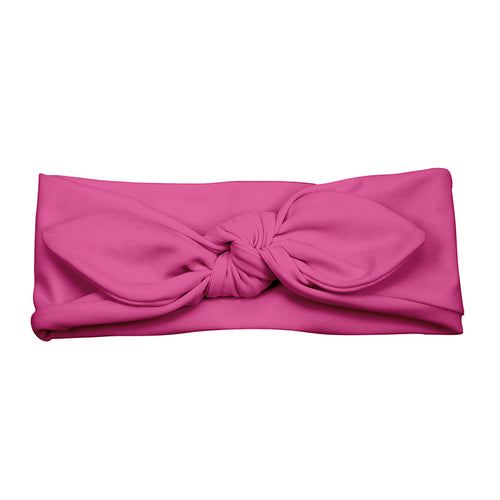 Swim & Sun Headband-Hot Pink-3mo+