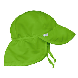 Flap Sun Protection Hat-Green