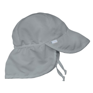 Flap Sun Protection Hat-Gray