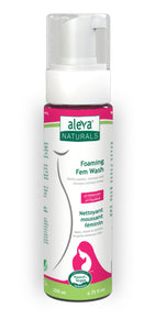Aleva Natural Foaming Fem Wash- 6.8 fl.oz/200ml