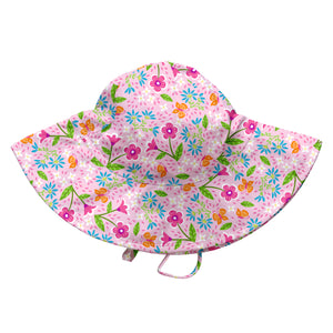 Fun Brim Sun Protection Hat-Pink Spring Garden