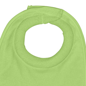 Stay-dry Milk Catcher Bib (3pk)-Aqua/Gray Set-0/6mo