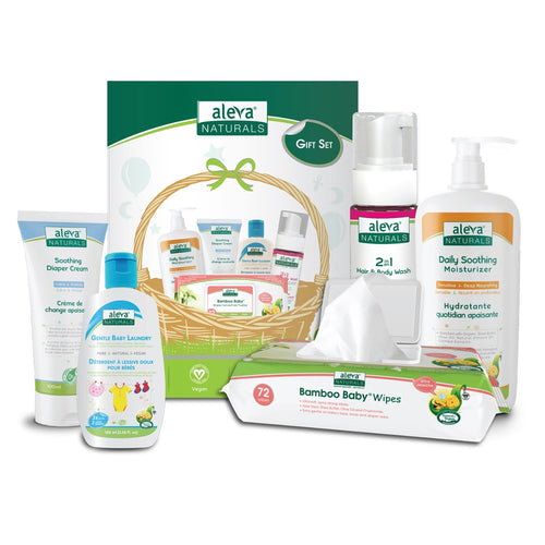 Aleva Natural Newborn Gift Set