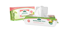 Load image into Gallery viewer, Aleva Natural Bamboo Baby Sensitive Wipes - 72ct