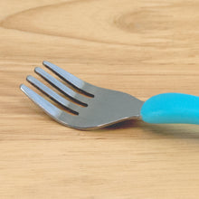 Load image into Gallery viewer, Learning Cutlery Aqua