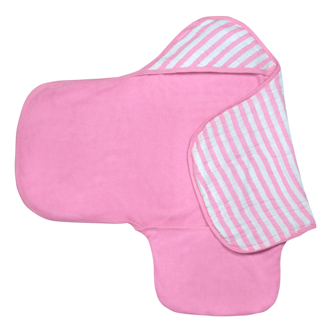 Bath Swaddle - Pink