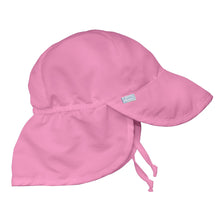 Load image into Gallery viewer, Flap Sun Protection Hat-Light Pink