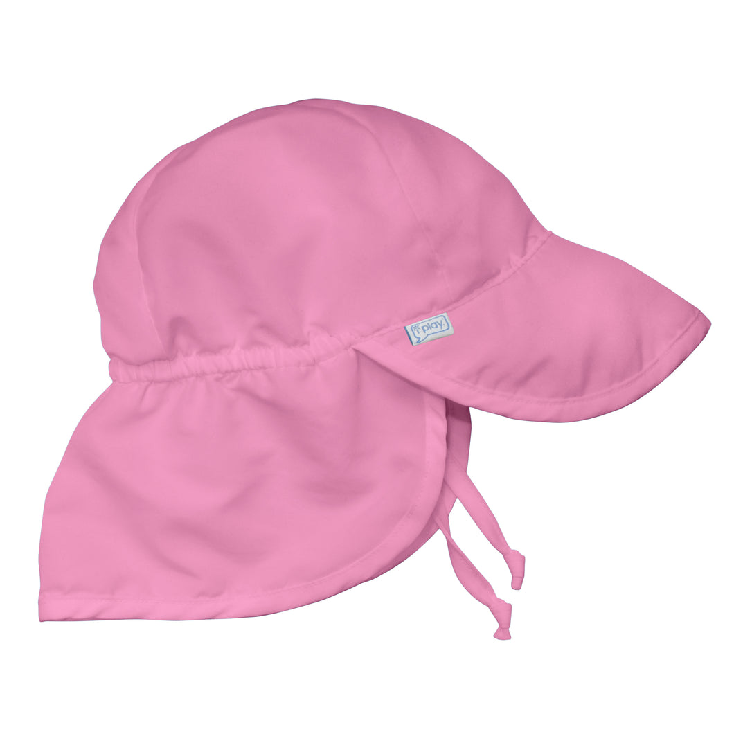 Flap Sun Protection Hat-Light Pink