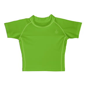 Short Sleeve Rashguard Shirt-Lime
