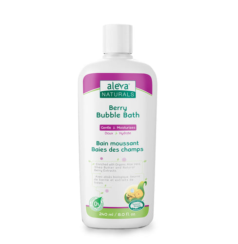 Aleva Natural Berry Bubble Bath- 8 fl.oz / 240ml