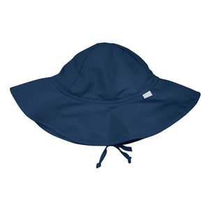 Brim Sun Protection Hat-Navy
