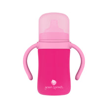 Load image into Gallery viewer, Sprout Ware Sippy Cup made from Plants-6oz-Pink-6mo+