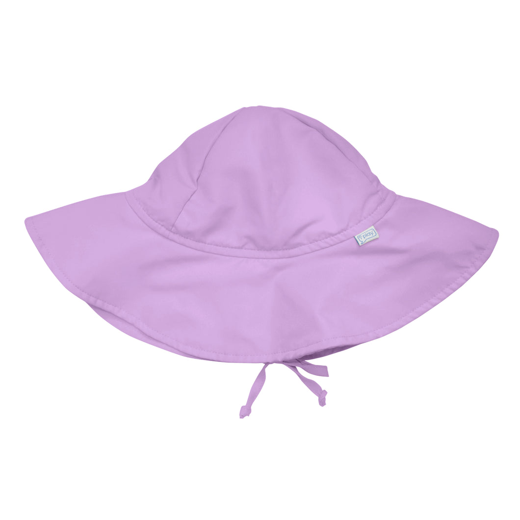 Brim Sun Protection Hat-Lavender