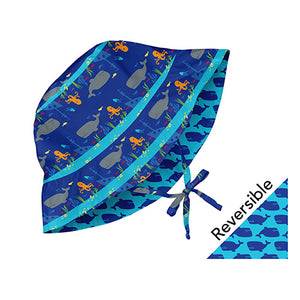 Mix and Match Reversible Bucket Sun Protection Hat - Royal Shipwreck