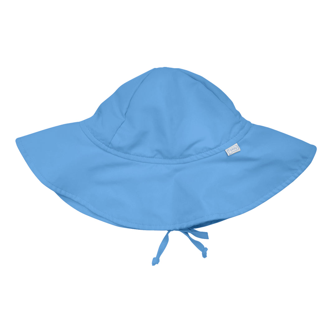 Brim Sun Protection Hat-Light Blue