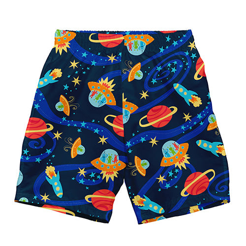 Classics Ultimate Swim Diaper Trunks-Navy Outer Space