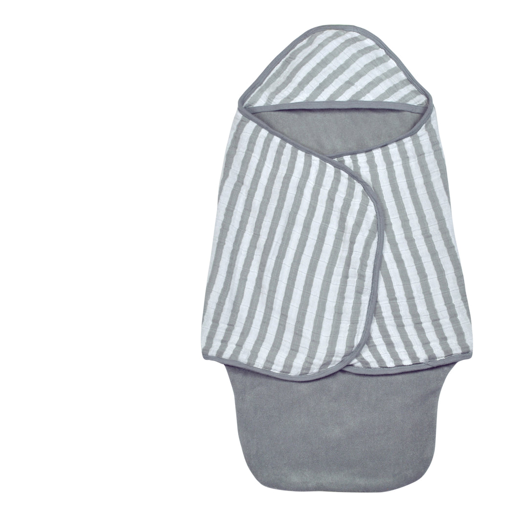 Bath Swaddle - Gray