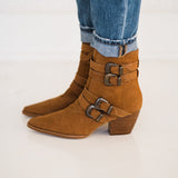 Matisse Harvey Multi Strap Boot in Tan
