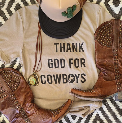 Thank God for Cowboys - Idaho Thunderbird
