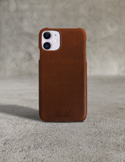 Oslo iPhone 11 Case - Brown