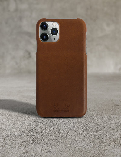 Oslo iPhone 11 Pro Max Case - Brown