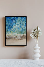 Ashore Wall Art by Nisha