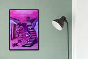 Mind Canvas Wall Art by Kartikey