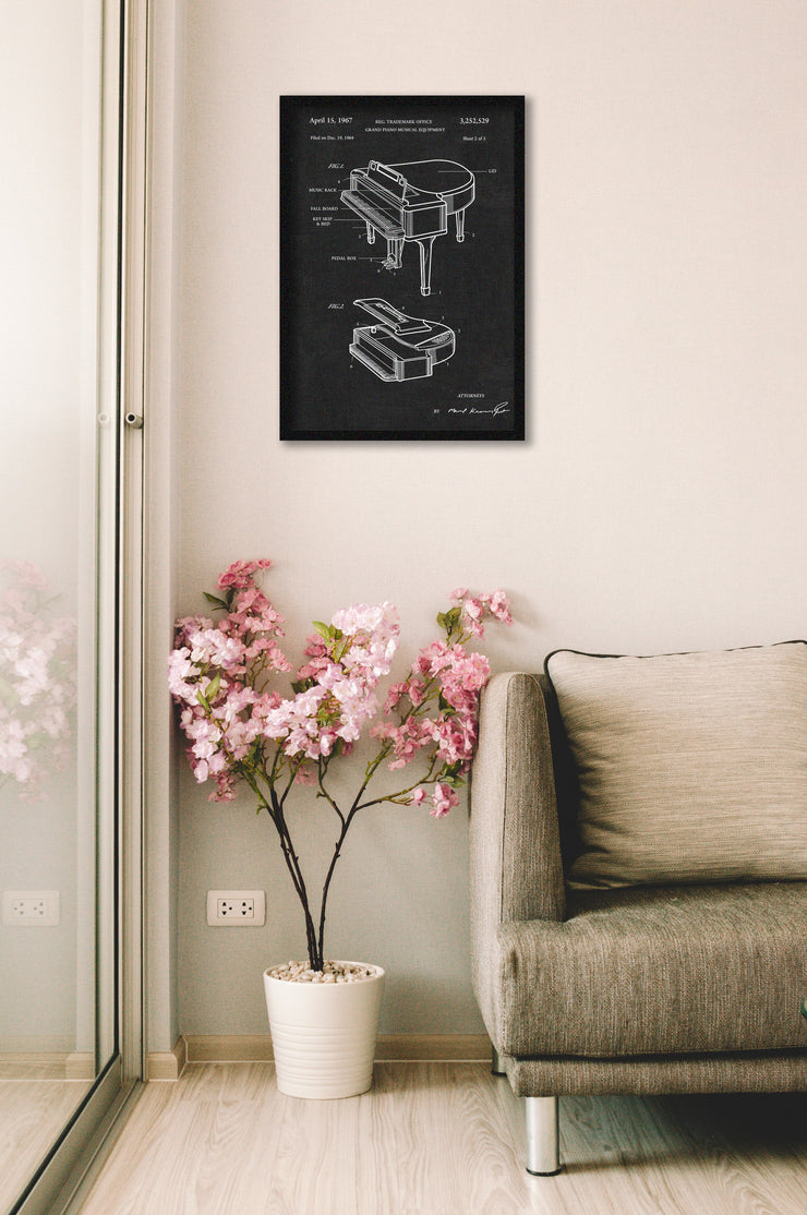 Grand Piano Wall Art