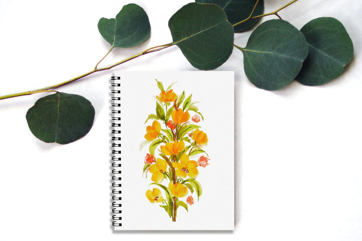 Blooming Yellows Notebook by Priyanka