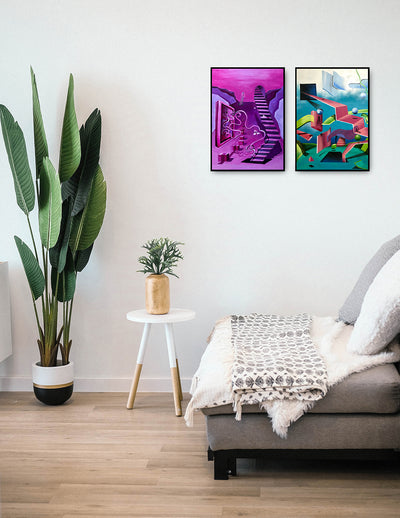 Set of Two Wall Art by Kartikey