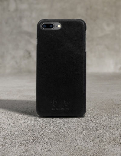 Oslo iPhone 8 Plus Case - Black