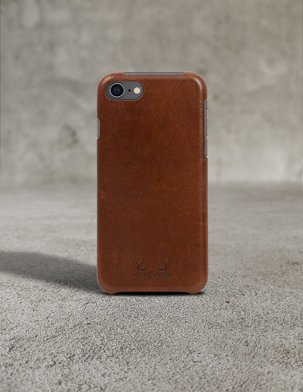 Oslo iPhone 8 Case - Tan (Brown)