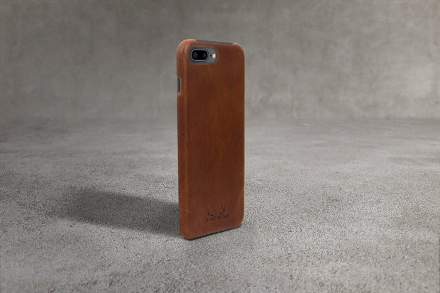 Oslo iPhone 8 Plus Case - Tan (Brown)