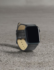 Havana Apple Watch Strap - Charcoal