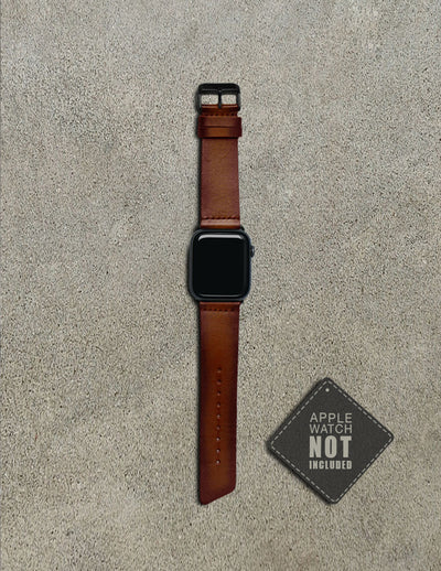 Havana Apple Watch Strap - Tan