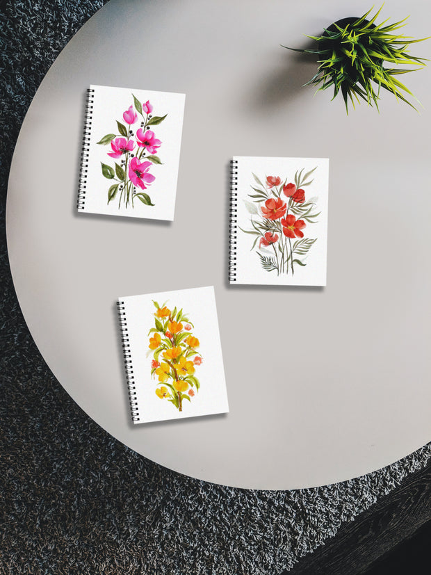 Set of Three Notebook by Priyanka