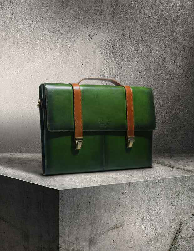 Havana Briefcase - Rainforest