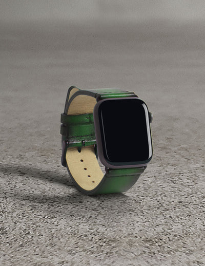 Havana Apple Watch Strap - Rainforest