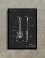 Six-Strings Wall Art