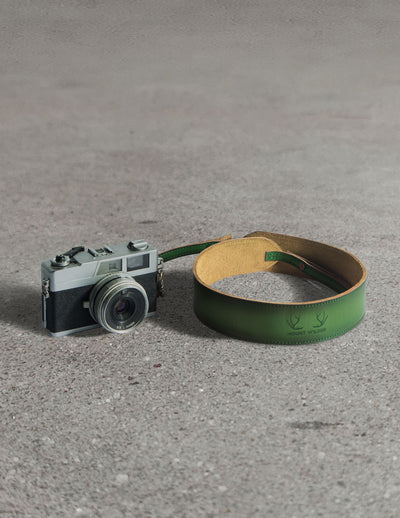 Havana Camera Strap - Rainforest