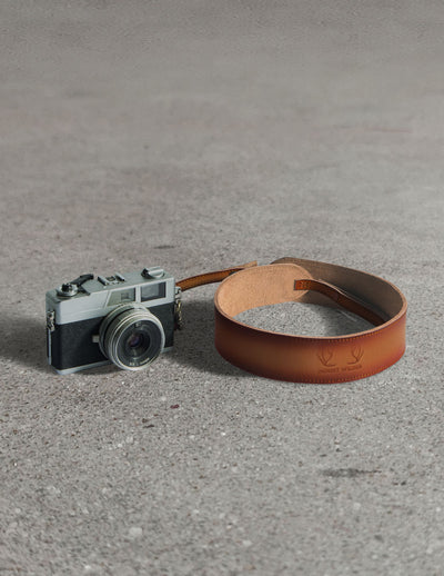 Havana Camera Strap - Tan