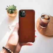 Havana iPhone 11 Pro Case -Tan