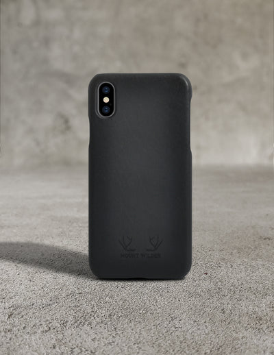 Havana iPhone X Case - Charcoal
