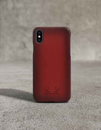 Havana iPhone X Case - Lava