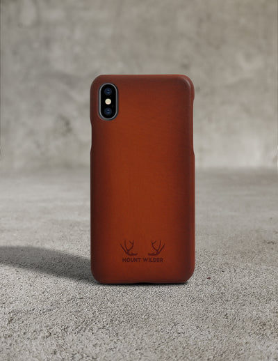 Havana iPhone X Case - Tan