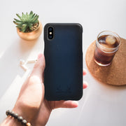 Havana iPhone XS Case - Cobalt